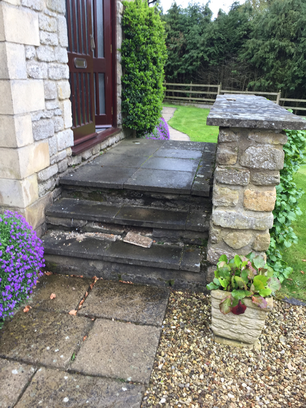 Old Steps - Before