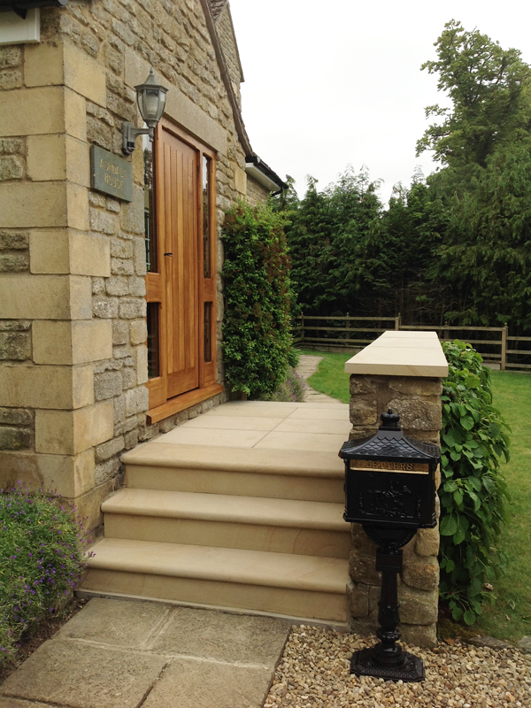 New Steps Stone Slabs
