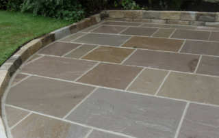 Forest Indian Stone Paving Raj Green