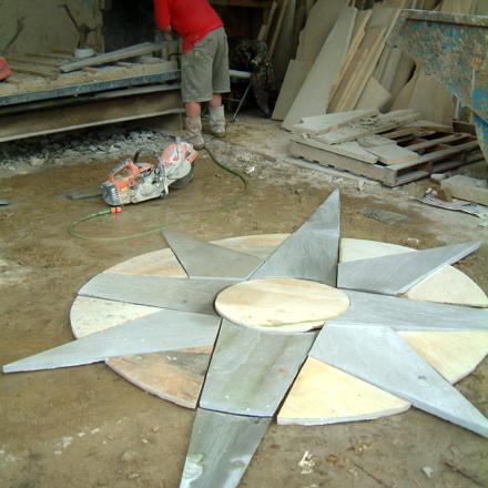 Indian Stone Nautical Star