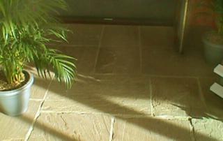 Indian stone paving - Buff