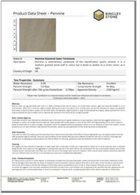 Technical specs - Pennine