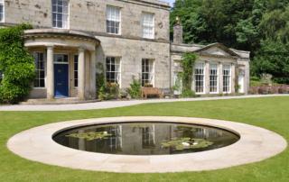 Bespoke Stonework - Pond Edging